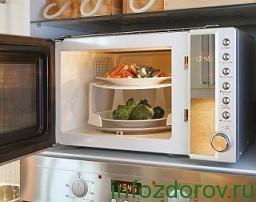 Микроволновая печь - вред и польза для здоровья