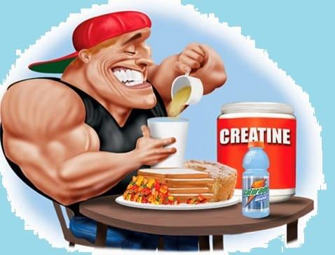 Креатин и тестостерон