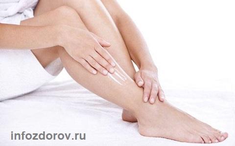 Сухая кожа голени ног - что делать