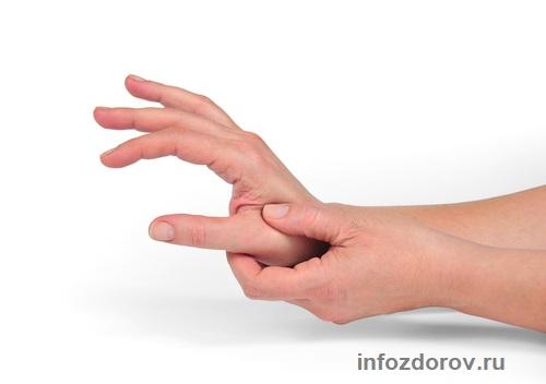 Сводит пальцы рук причина и что делать