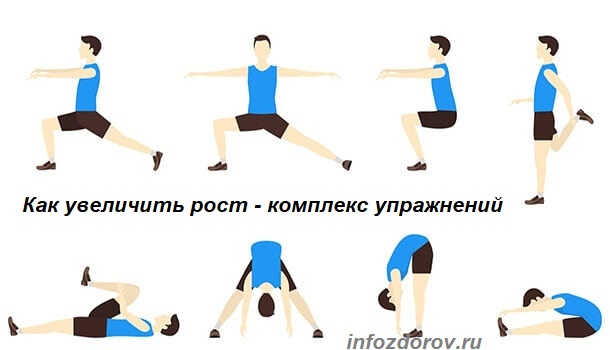 Упражнения для увеличения роста