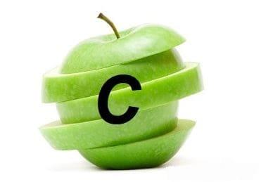 Сколько витамина С в яблоках