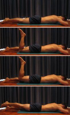 Движение для мышц ног