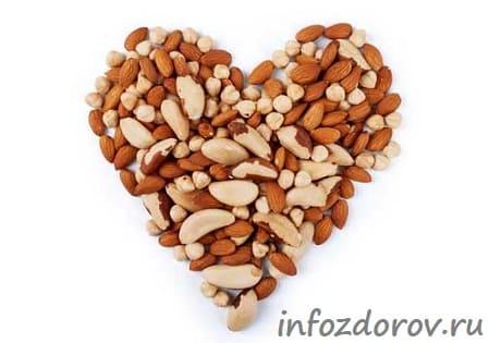 Польза орехов для сердца