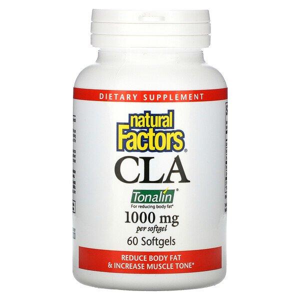 Natural Factors, CLA, 1,000 mg, 60 Softgels